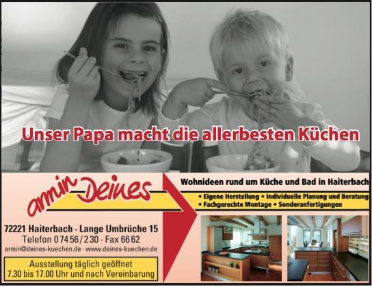Sponsoren Komusina Haiterbach