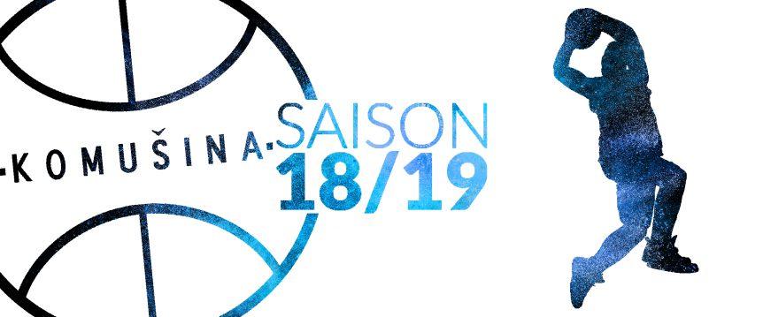 Komusina Haiterbach Basketball Saison 2018 2019